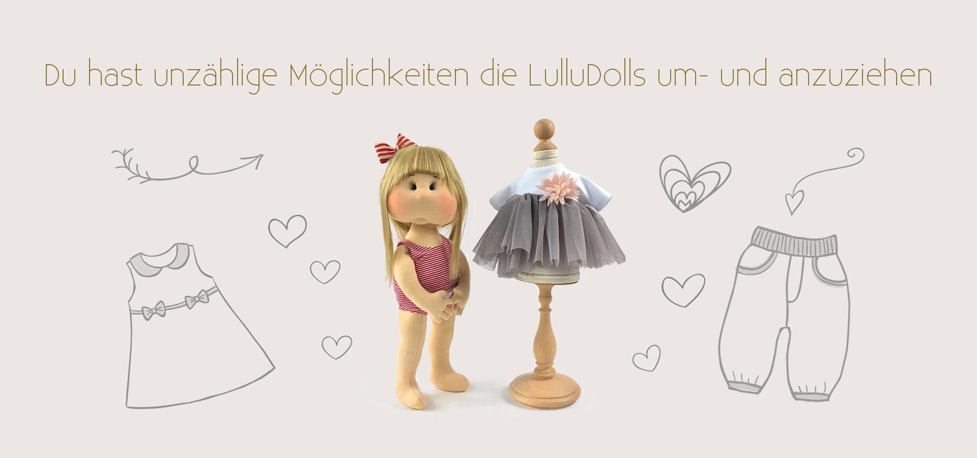 puppen für kleine mädchen Lullu Dolls